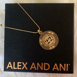 NEW ALEX AND ANI Numerology 22 Adjustable Necklace